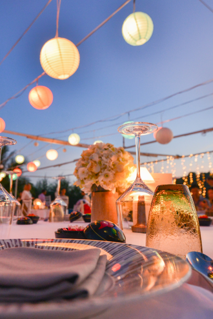 weselne świecące dekoracje