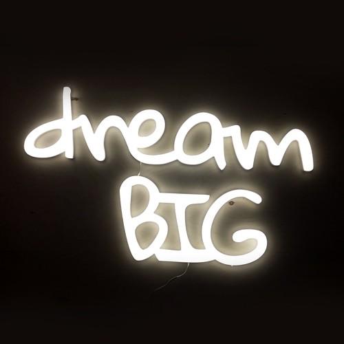 Ledon na ściane Dream big
